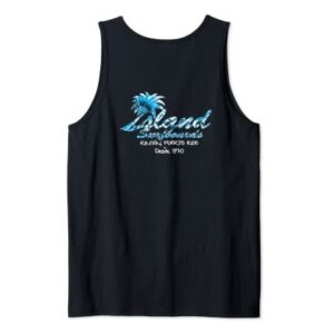 Island Surfboard Tank Top