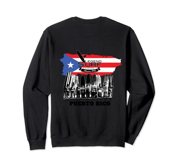Legend Surf Classic Surf Contest designed in Puerto Rico. Sweatshirt